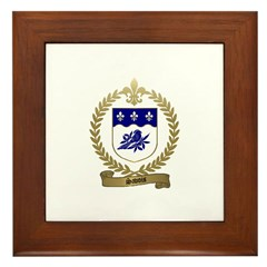 SAVOIS Family Crest Framed Tile