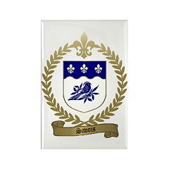 SAVOIS Family Crest Rectangle Magnet