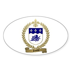 SAVOIS Family Crest Oval Decal