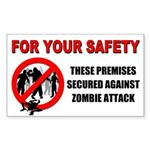 10-pack Stickers - Premises Secured