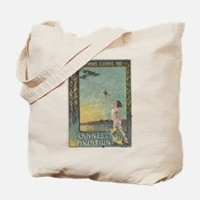 France 1910 Cannes air show Tote Bag