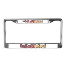 Lucky Bastard License Plate Frame