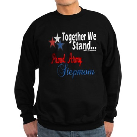 Army Stepmom Sweatshirt (dark)