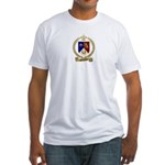 SIMONEAUX Family Crest Fitted T-Shirt