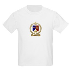 SIMONEAUX Family Crest Kids T-Shirt