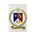 SIMONEAUX Family Crest Rectangle Magnet (100 pack)