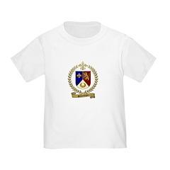 SIMONEAUX Family Crest Toddler T-Shirt