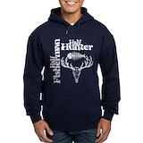 Hunting and fishing Dark Hoodies