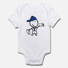 Boy & Business Infant Bodysuit