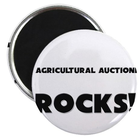 MY Agricultural Auctioneer ROCKS! Magnet