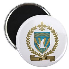 SERREAU Family Crest Magnet