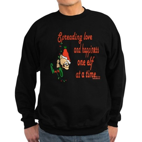 Spreading Love Elves Sweatshirt (dark)