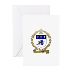SAVOIE Family Crest Greeting Cards (Pk of 10)