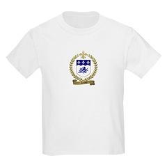 SAVOIE Family Crest Kids T-Shirt