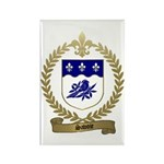 SAVOIE Family Crest Rectangle Magnet