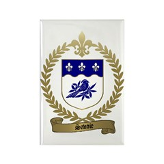SAVOIE Family Crest Rectangle Magnet (10 pack)
