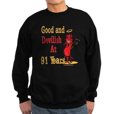 Devilish at 91 Sweatshirt (dark)