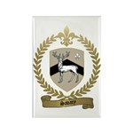 SAVARY Family Crest Rectangle Magnet