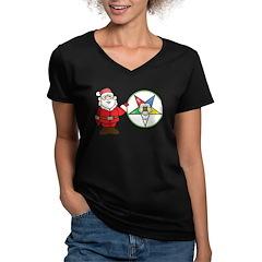 Santa and the OES Shirt