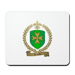 SANTIER Family Crest Mousepad