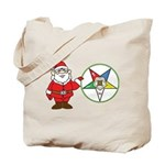 Santa and the OES Tote Bag