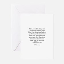 MARK  10:21 Greeting Cards (Pk of 10)