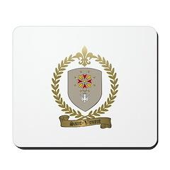 SAINT-VINCENT Family Crest Mousepad