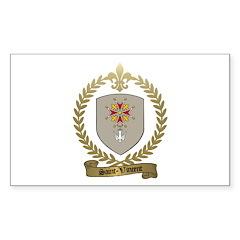 SAINT-VINCENT Family Crest Rectangle Sticker