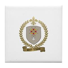 SAINT-VINCENT Family Crest Tile Coaster