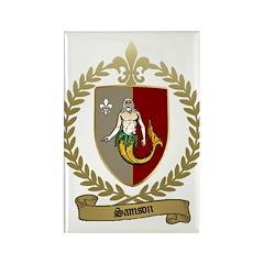 SAMSON Family Crest Rectangle Magnet