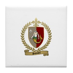 SAMSON Family Crest Tile Coaster