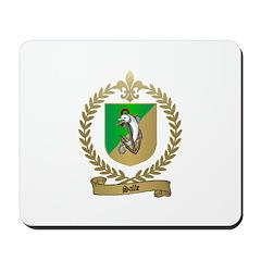 SALLE Family Crest Mousepad