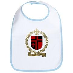 SAINT-QUENTIN Family Crest Bib
