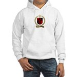 SAINT-QUENTIN Family Crest Hooded Sweatshirt