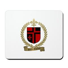 SAINT-QUENTIN Family Crest Mousepad