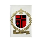 SAINT-QUENTIN Family Crest Rectangle Magnet (10 pa