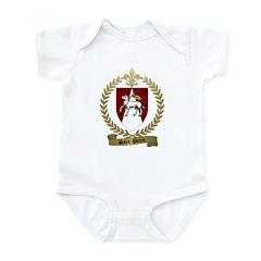 SAINT-PIERRE Family Crest Infant Creeper