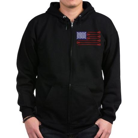 Lacrosse AmericasGame Zip Hoodie (dark)