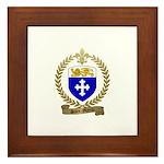 SAINT-MARTIN Acadian Crest Framed Tile