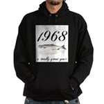 1968, 40th Birthday Hoodie (dark)