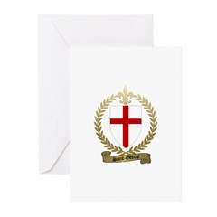 SAINT-GEORGE Family Crest Greeting Cards (Package