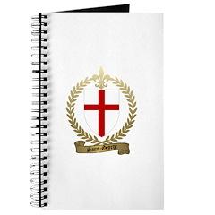 SAINT-GEORGE Family Crest Journal
