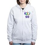 90 Gifts Women's Zip Hoodie