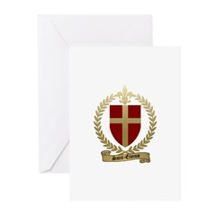 SAINT-ETIENNE Family Crest Greeting Cards (Package