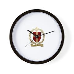 SAINT-ETIENNE Family Crest Wall Clock