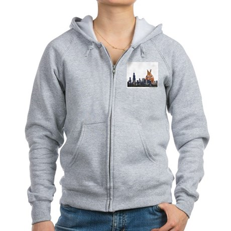 Killer Rabbit Women's Zip Hoodie