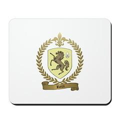 ROUX Family Crest Mousepad