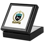 ROUSSELIERE Family Crest Keepsake Box