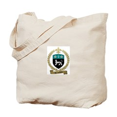 ROUSSELIERE Family Crest Tote Bag