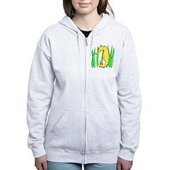 Seahorse Zip Hoodie